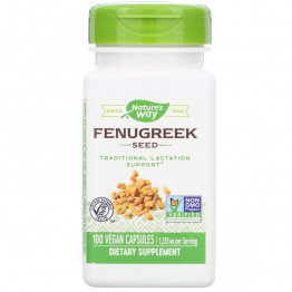 Nature's Way Fenugreek Seed / Пажитник 1220 мг 100 капсул