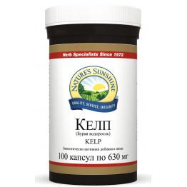 Natures Sunshine KELP / БАД Келп (Бурая водоросль) 630 мг 100 капсул