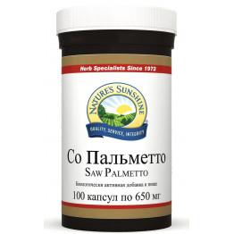 Natures Sunshine Saw Palmetto / Со Пальметто 100 капсул по 650 мг