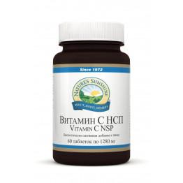 Natures Sunshine Vitamin C / Витамин С НСП 60 таблеток по 1280 мг