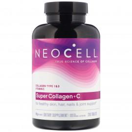 Super Collagen + C добавка с коллагеном и витамином C, 250 таблеток