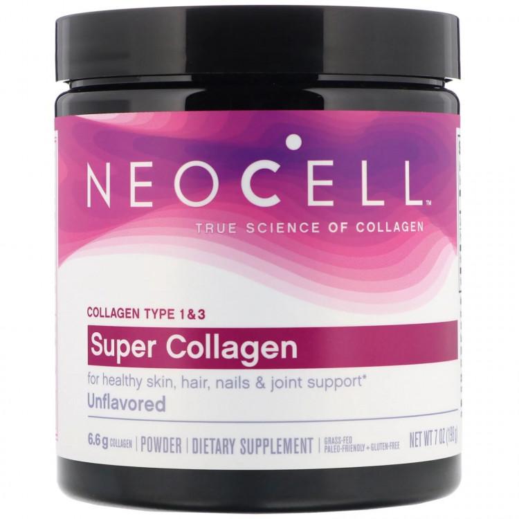 Super Collagen Types 1 & 3 порошок 198 гр / Коллаген