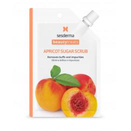 BEAUTY TREATS Apricot sugar scrub mask / Маска-скраб для лица
