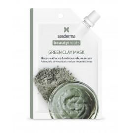 BEAUTY TREATS Green clay mask / Маска глиняная для лица