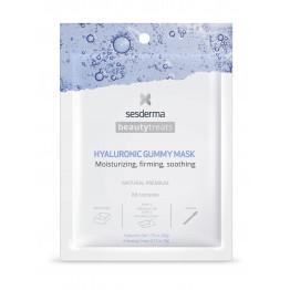 BEAUTY TREATS Hyaluronic gummy mask / Маска увлажняющая для лица