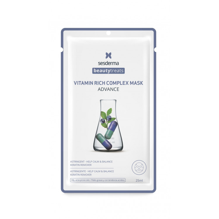 BEAUTY TREATS Vitamin rich complex mask / Маска для сияния кожи