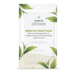 Beauty Treats Green tea therapy mask / Маска увлажняющая для лица
