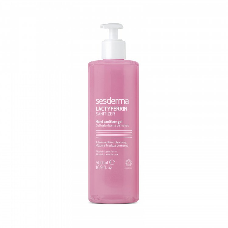 Lactyferrin Sanitizer Hand Sanitizing Gel / Средство дезинфицирующее для рук 500 мл