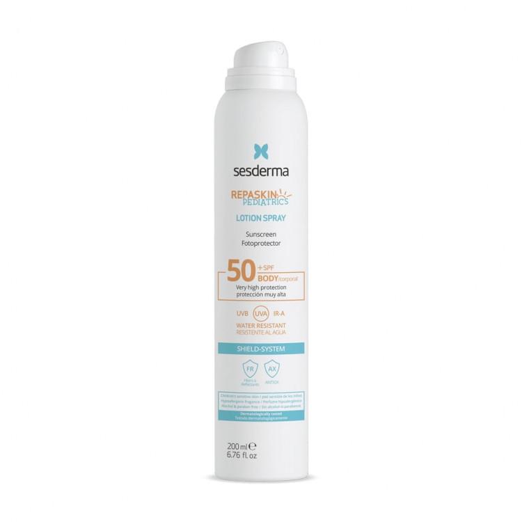 REPASKIN PEDIATRICS Aerosol transparent SPF50 – Спрей солнцезащитный для детей SPF50, 200 мл