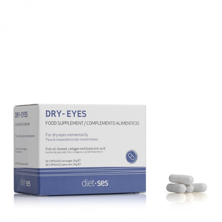 Oftalses Dry-Eyes Добавка к пище Офтальсес 60 капсул