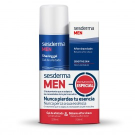 Набор Sesderma Men Гель для бритья + Бальзам после бритья