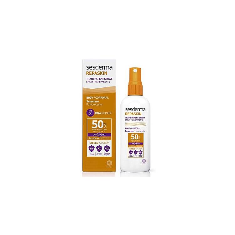Repaskin Transparent Spray Солнцезащитный прозрачный спрей СЗФ-50 200 мл