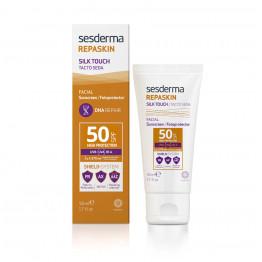 Repaskin Silk Touch – Крем солнцезащитный для лица СЗФ-50, 50 мл