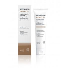 Vitises Ecad regulating gel for cutaneous depigmentation - Гель для выравнивания тона кожи, 100 мл