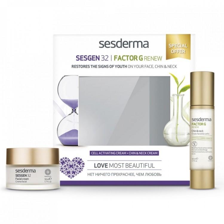 Набор Sesgen 32 + Factor G Renew для восстановления молодости кожи лица