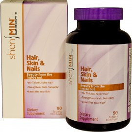 Shen Min Hair, Skin and Nails 90 tab / Волосы, Кожа и Ногти
