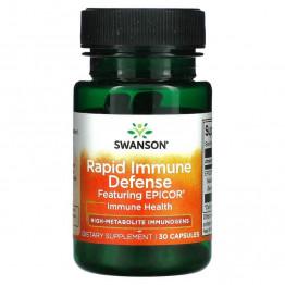 Swanson Rapid Immune Defense 30 капсул / Иммуногены