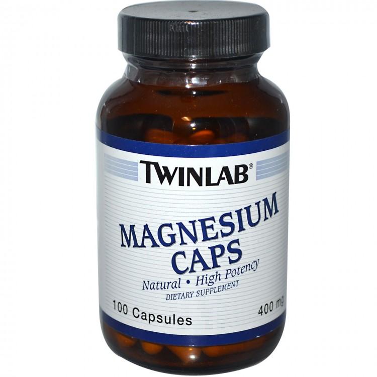 Magnesium Caps 400 mg 100 caps / Магний
