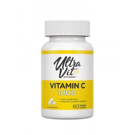 Ultravit Vitamin C-1000 / Витамин С 1000 мг 60 капсул