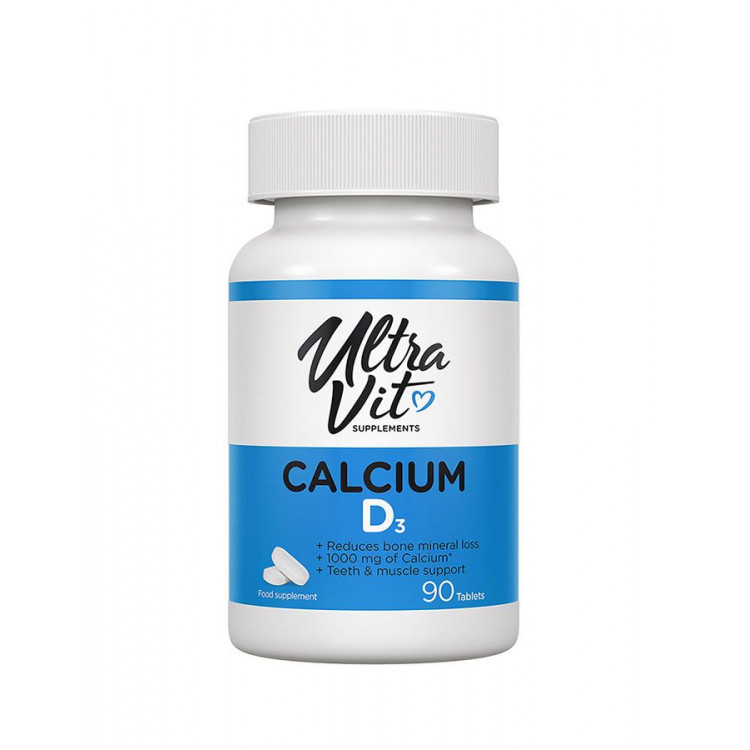 Ultravit CALCIUM D3 / Кальций + Витамин Д3 90 таблеток