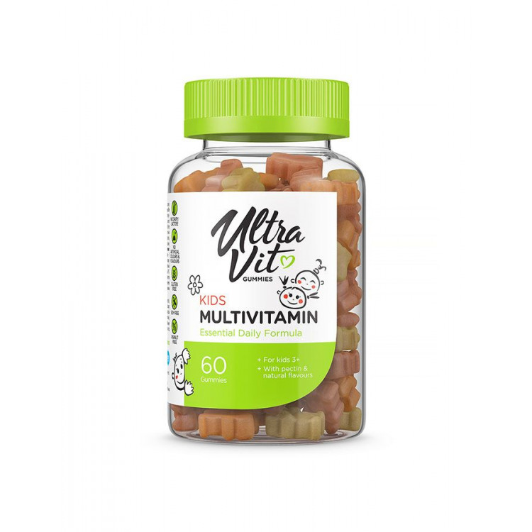 Ultravit Kids Multivitamin / Мультивитаминный комплекс для детей 60 жевательных таблеток