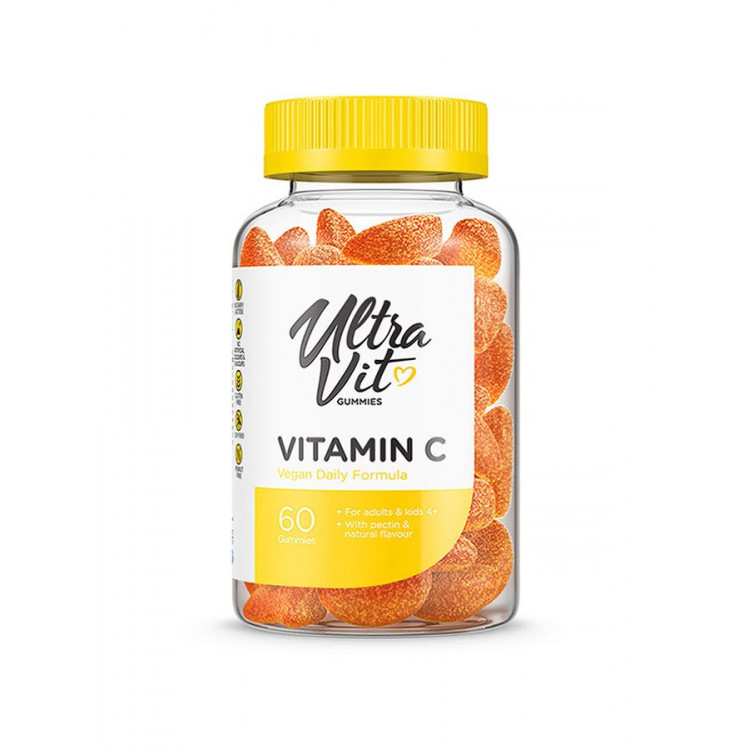 Ultravit Vitamin C / Витамин С 60 жевательных таблеток