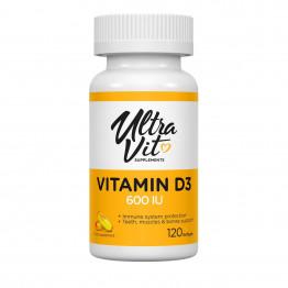 Ultravit Vitamin D3 600 UI 120 softgels / Витамин Д3
