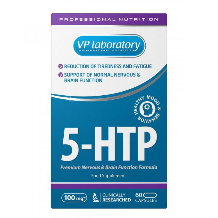 VP Laboratory 5-HTP 50 mg / 5-гидрокситриптофан 60 капсул