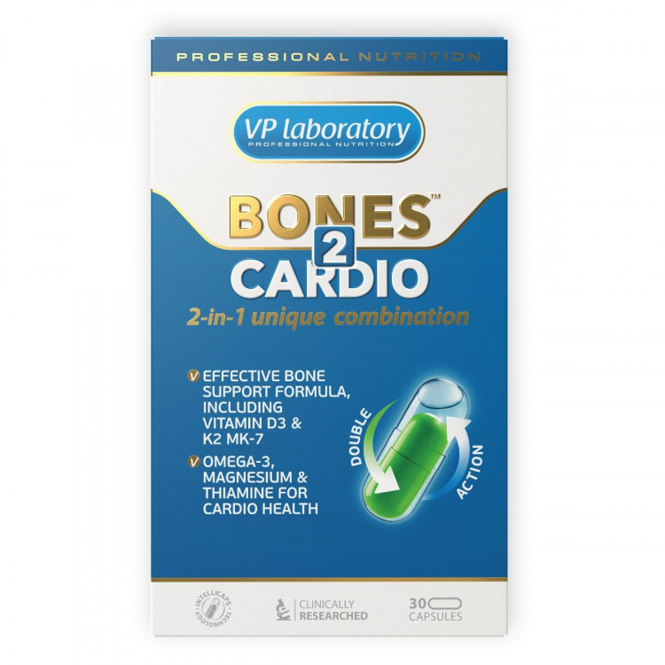 VP Laboratory Bones 2 Cardio 30 капсул