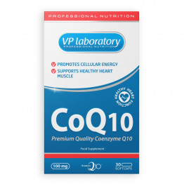 VP Laboratory CoQ10 / Коэнзим Q10 100 мг 30 капсул