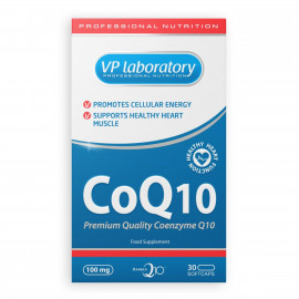 VP Laboratory CoQ10 / Коэнзим Q10 100 мг 30 капсул