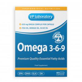 VP Laboratory Omega 3-6-9 / Омега 3-6-9 60 капсул